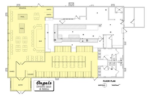 Angel's Ice House Site Plan