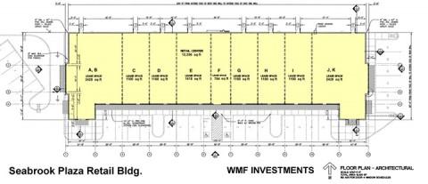 Seabrook Plaza Site Plan